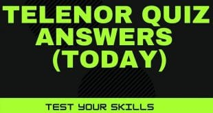 Telenor Question Answers Today